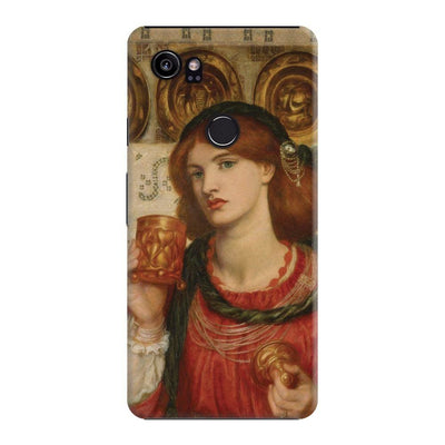 THE LOVING CUP OIL ON PANEL 1867 Slim Case For Pixel 2 XL