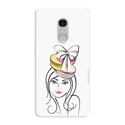 The Macaroon Headdress Slim Case For Redmi Note 4