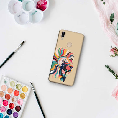 The Magnificent Lion Slim Case And Cover For Vivo V9