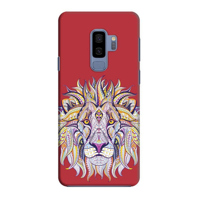 The Majestic King Slim Case And Cover For Galaxy S9 Plus - Red