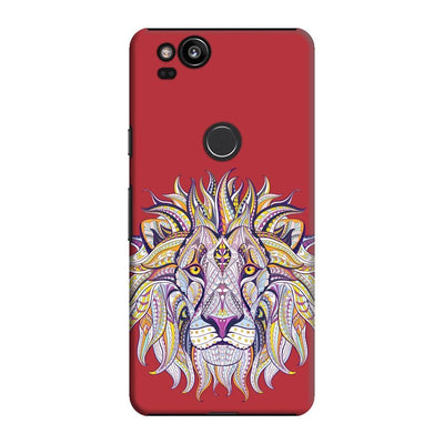 The Majestic King Slim Case And Cover For Pixel 2 - Red