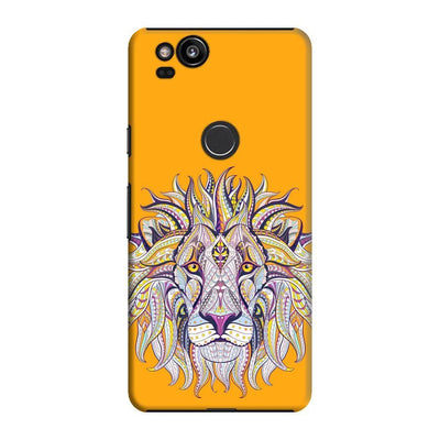 The Majestic King Slim Case And Cover For Pixel 2 - Yellow
