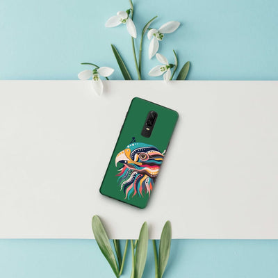 The Observant Eagle Slim Case And Cover For Oneplus 6