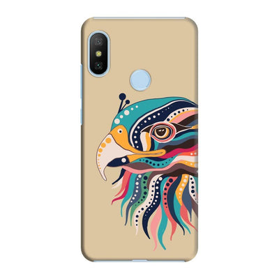 The Observant Eagle Slim Case And Cover For Redmi 6 Pro - Brown