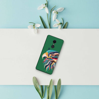 The Observant Eagle Slim Case And Cover For Redmi Note 5