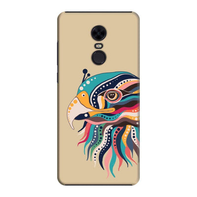 The Observant Eagle Slim Case And Cover For Redmi Note 5 - Brown