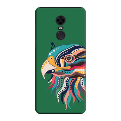 The Observant Eagle Slim Case And Cover For Redmi Note 5 - Green