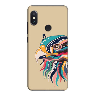 The Observant Eagle Slim Case And Cover For Redmi Note 5 Pro - Brown