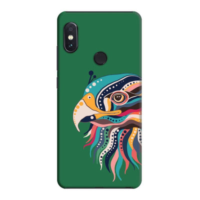 The Observant Eagle Slim Case And Cover For Redmi Note 5 Pro - Green