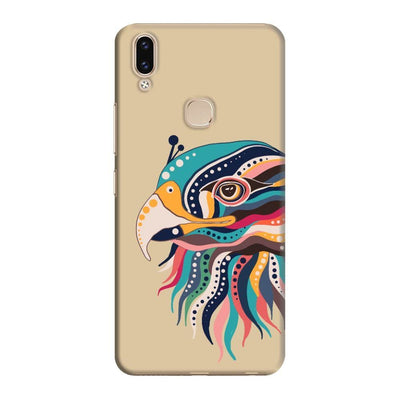 The Observant Eagle Slim Case And Cover For Vivo V9 - Brown