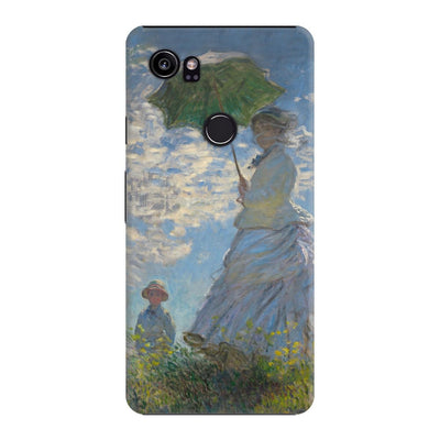 The Promenade - Woman With Parasol Slim Case For Pixel 2 XL