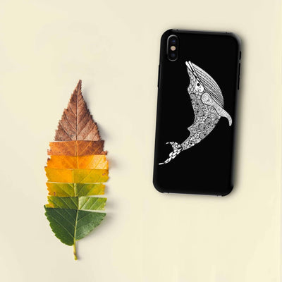 The Rhythmic Dolphin Slim Case And Cover For iPhone X