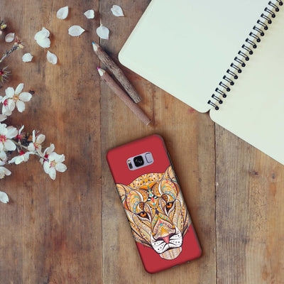 The Unstoppable Tiger Slim Case And Cover For Galaxy S8
