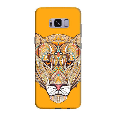 The Unstoppable Tiger Slim Case And Cover For Galaxy S8 - Yellow
