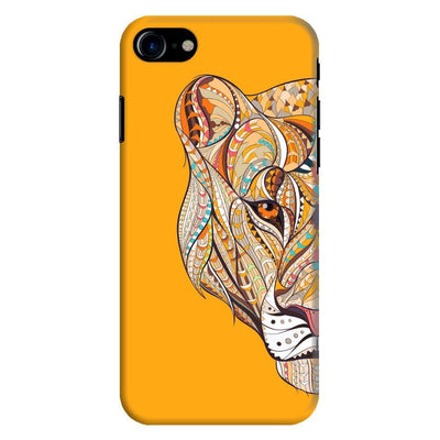 The Unstoppable Tiger Slim Case And Cover For Iphone 8 - Yellow