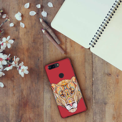 The Unstoppable Tiger Slim Case And Cover For Oneplus 5T