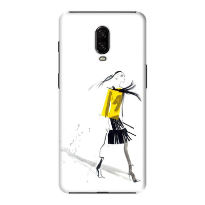 THE YELLOW JACKET Slim Case And Cover For ONEPLUS 6T