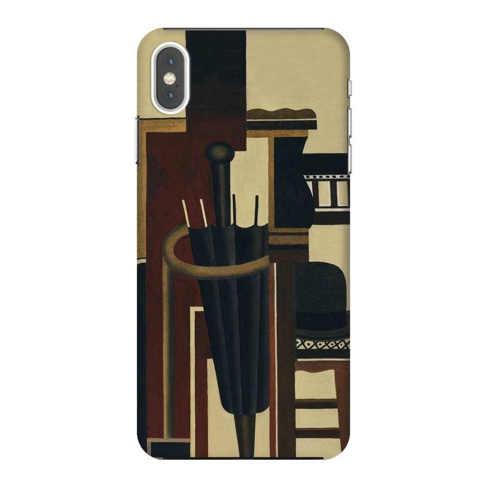 UMBRELLA AND BOWLER HAT Slim Case And Cover For IPHONE XS MAX