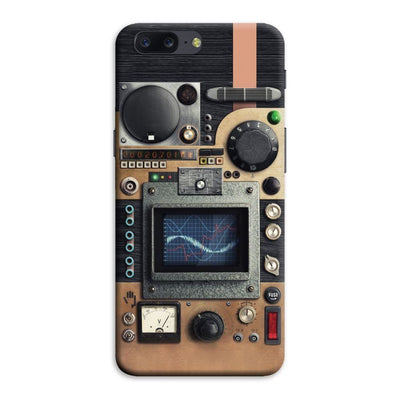 Vintage Research Device Panel Designer Slim Case And Cover For OnePlus Five