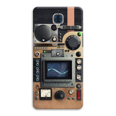 Vintage Research Device Panel Designer Slim Case And Cover For OnePlus Three