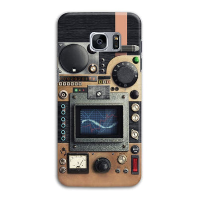 Vintage Research Device Panel Slim Case And Cover For Galaxy S7 Edge