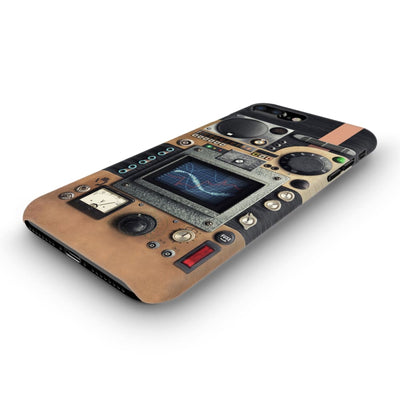 Vintage Research Device Panel Slim Case And Cover For Iphone 8 Plus