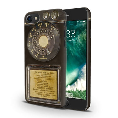 Vintage Slot Phone A.K.A The Public Payphone Slim Case And Cover For Iphone 7