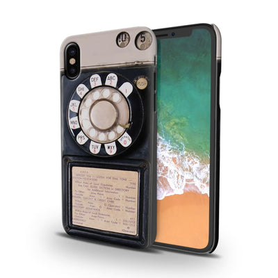 Vintage Slot Phone A.K.A The Public Payphone Slim Case And Cover For Iphone X