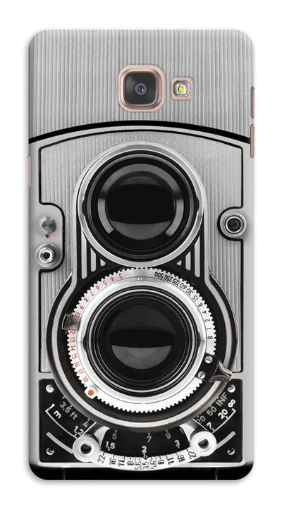 Vintage Twin Lens Reflex Camera Designer Slim Case And Cover For Galaxy A9