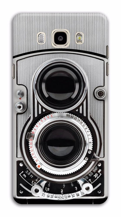 Vintage Twin Lens Reflex Camera Designer Slim Case And Cover For Galaxy J7 (2016)