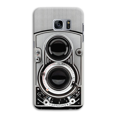 Vintage Twin Lens Reflex Camera Designer Slim Case And Cover For Galaxy S7