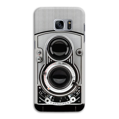 Vintage Twin Lens Reflex Camera Designer Slim Case And Cover For Galaxy S7 Edge