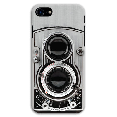 Vintage Twin Lens Reflex Camera Designer Slim Case And Cover For iPhone 8