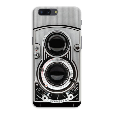 Vintage Twin Lens Reflex Camera Designer Slim Case And Cover For OnePlus Five