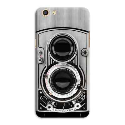 Vintage Twin Lens Reflex Camera Designer Slim Case And Cover For Oppo F3
