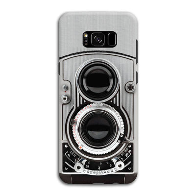 Vintage Twin Lens Reflex Camera Slim Case And Cover For Galaxy S8