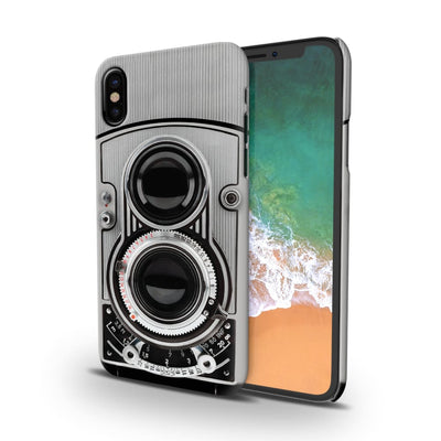 Vintage Twin Lens Reflex Camera Slim Case And Cover For Iphone X