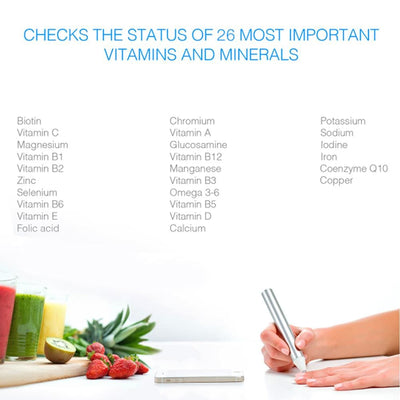 Vitastiq Family - track over 26 vitamin and mineral levels