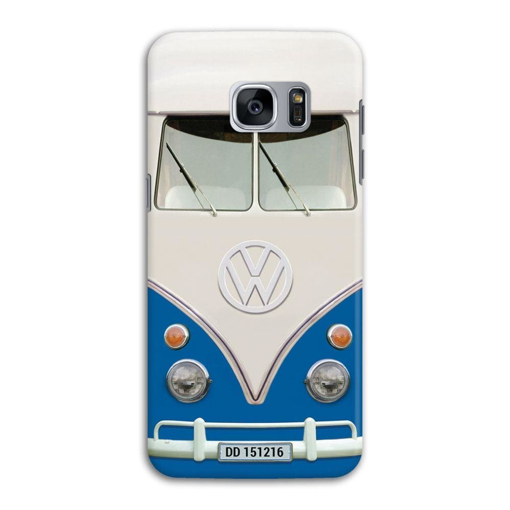 Volkswagen Hippie Camper Slim Case And Cover For Galaxy S7 Edge