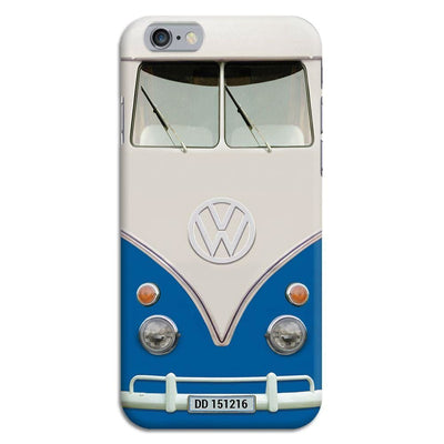 Volkswagen Hippie Camper Slim Case And Cover For Iphone 6 - Blue