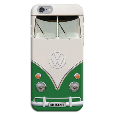 Volkswagen Hippie Camper Slim Case And Cover For Iphone 6 - Green