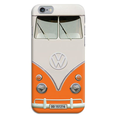 Volkswagen Hippie Camper Slim Case And Cover For Iphone 6 - Orange