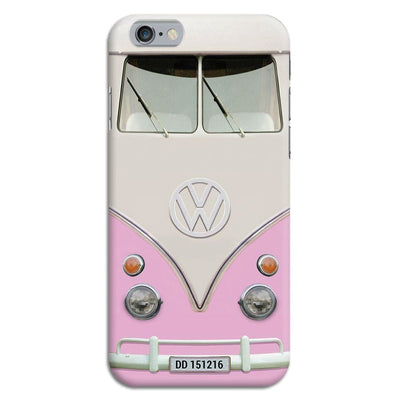Volkswagen Hippie Camper Slim Case And Cover For Iphone 6 - Pink