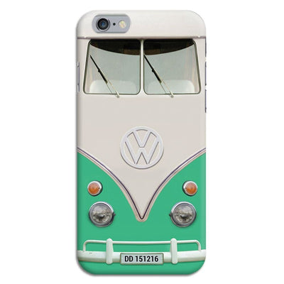 Volkswagen Hippie Camper Slim Case And Cover For Iphone 6 - Teal