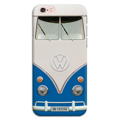 Volkswagen Hippie Camper Slim Case And Cover For Iphone 6S - Blue