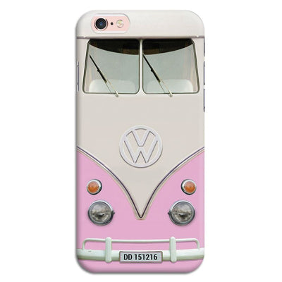 Volkswagen Hippie Camper Slim Case And Cover For Iphone 6S - Pink