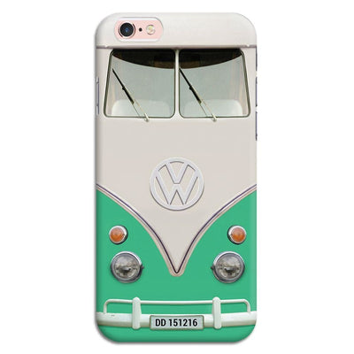 Volkswagen Hippie Camper Slim Case And Cover For Iphone 6S - Teal