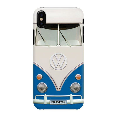 Volkswagen Hippie Camper Slim Case And Cover For Iphone X - Blue