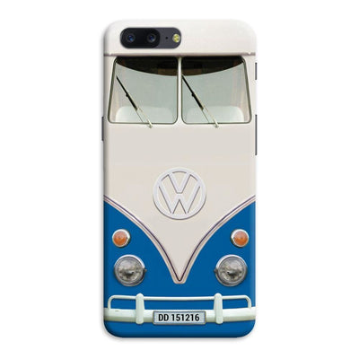 Volkswagen Hippie Camper Slim Case And Cover For Oneplus Five - Blue