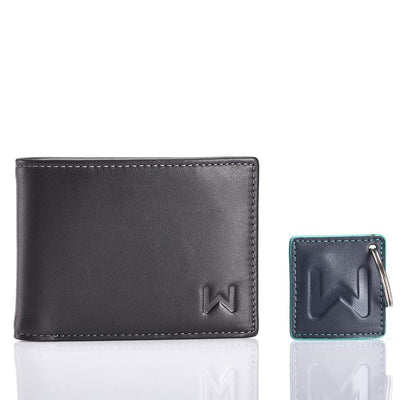Walli - the smart wallet that connects to your phone - Black/Grey